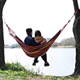 Tintonlife Brazilian Double Hammock Two Person