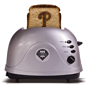 MLB Philadelphia Phillies Protoast Team Logo Toaster