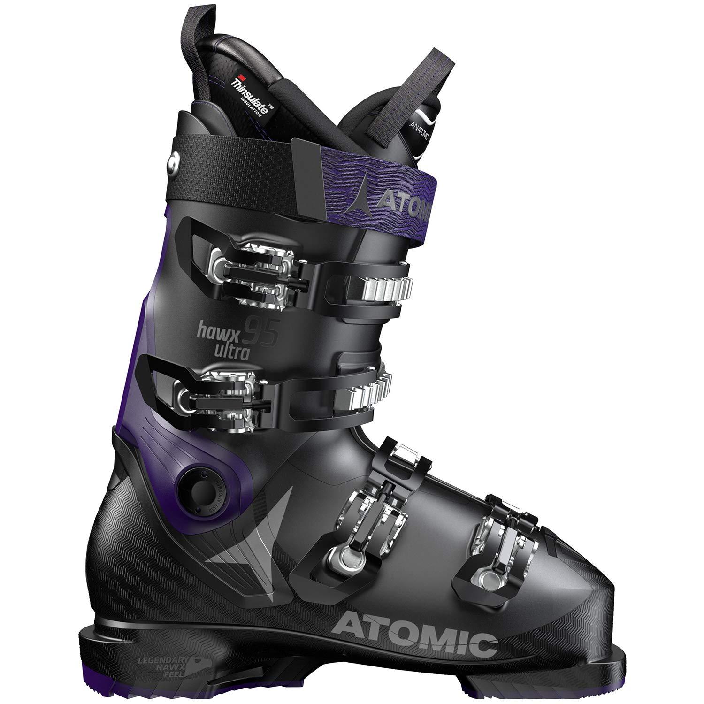 Atomic HAWX Ultra 95 スキーブーツ レディース ブラック/パープル 23.0/23.5