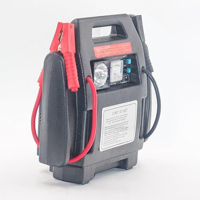 Bay Valle partes 900peak Amp 12 V Jump Starter Cargador de batería coche compresor de aire