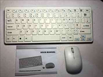 samsung tv keyboard and mouse. white wireless mini keyboard \u0026 mouse for samsung ue22h5610 smart 22\u0026quot; samsung tv and h