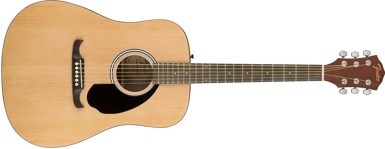 Guitar Acoustic Fender FA-125 Dreadnought Nat w/Bag 961210121