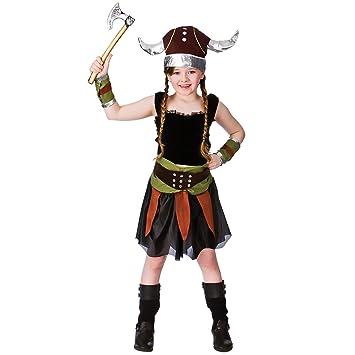 New Viking Girl - Kids Costume 5 - 7 years  sc 1 st  Amazon UK & New Viking Girl - Kids Costume 5 - 7 years: Amazon.co.uk: Clothing