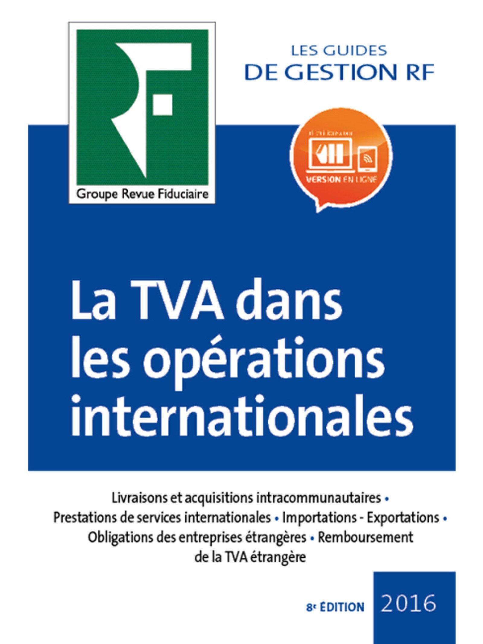 Amazon Fr La Tva Dans Les Operations Internationales 2017