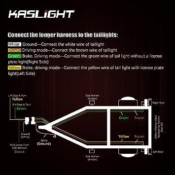 71AzVEuG3%2BL._SY355_ amazon com kaslight boat trailer lights, marine trailer lights