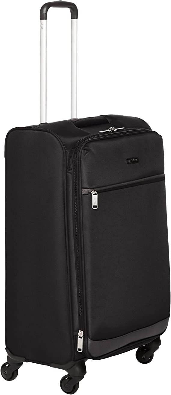 AmazonBasics Softside Spinner Luggage Suitcase - 30.9 Inch