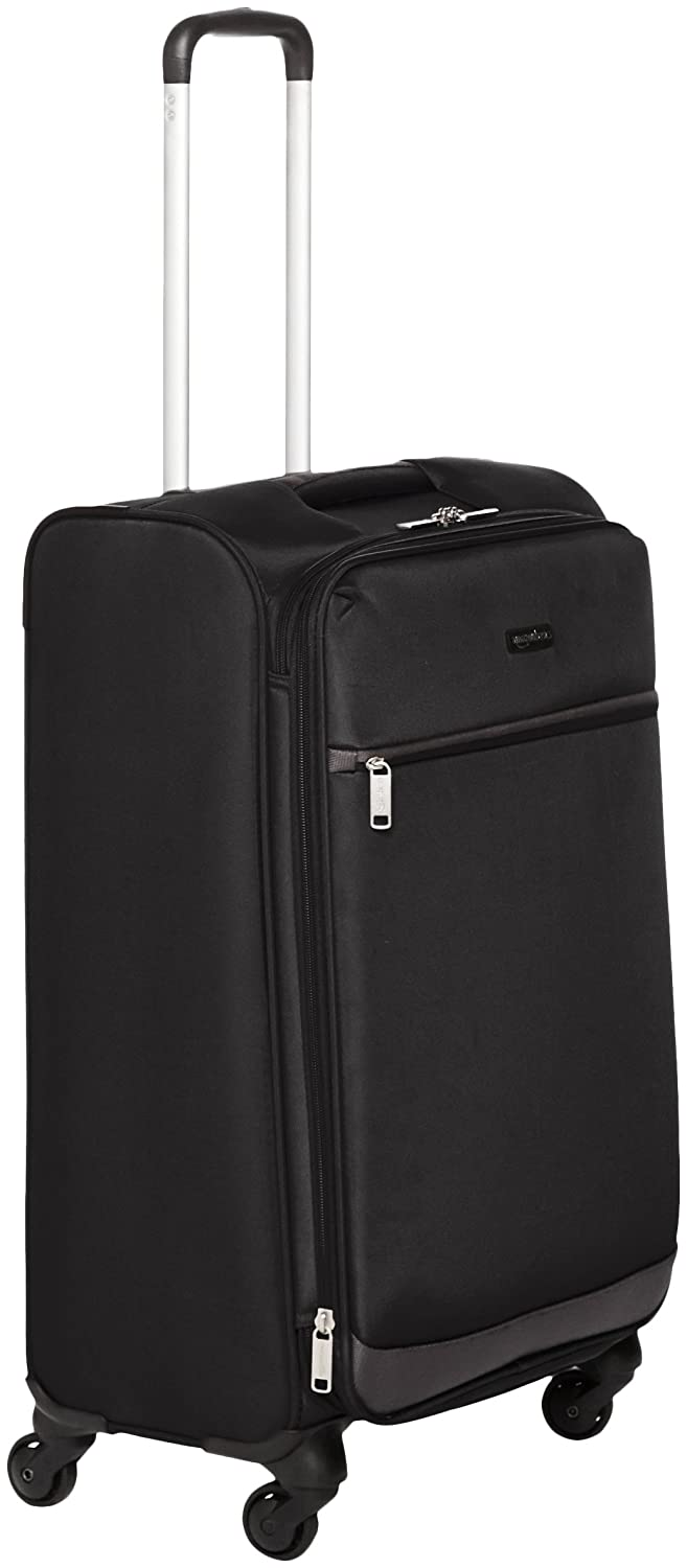 a69192a1d Amazon.com | AmazonBasics Softside Spinner Luggage Suitcase - 29 Inch,  Black | Suitcases