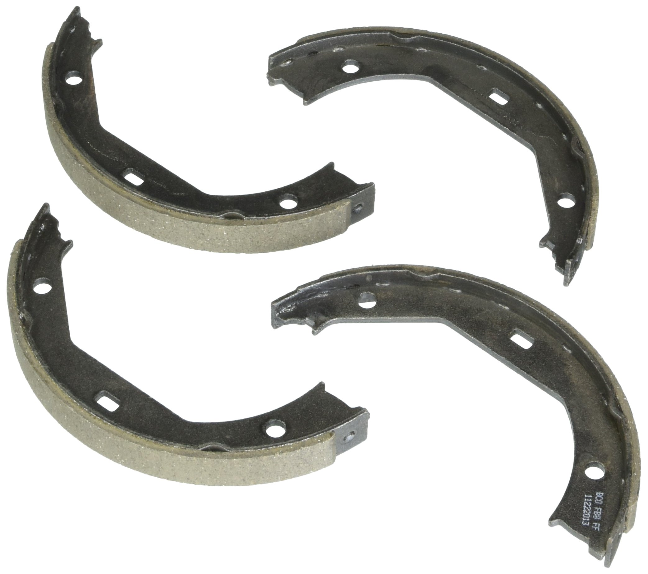 Bosch BS831 Blue Drum Parking Brake Shoe Set