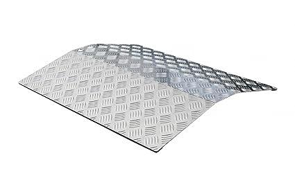 Umbral de Puerta Rampa Umbral Puente Rampa 60 cm longitud aluminio