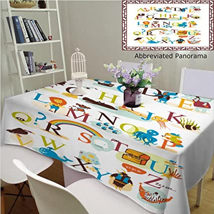 948200e6d112 Amazon.com: Unique Custom Cotton and Linen Tablecloths English ...