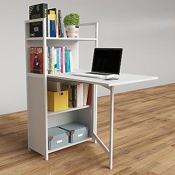 Amazonde Zr Einfache Computer Schreibtisch Bücherregal