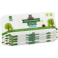 Lingettes nettoyantes Pogi's - 400 Chiffons désodorisant pour Chiens – Hypoallergénique, biodégradables, Non parfumées, Naturelles