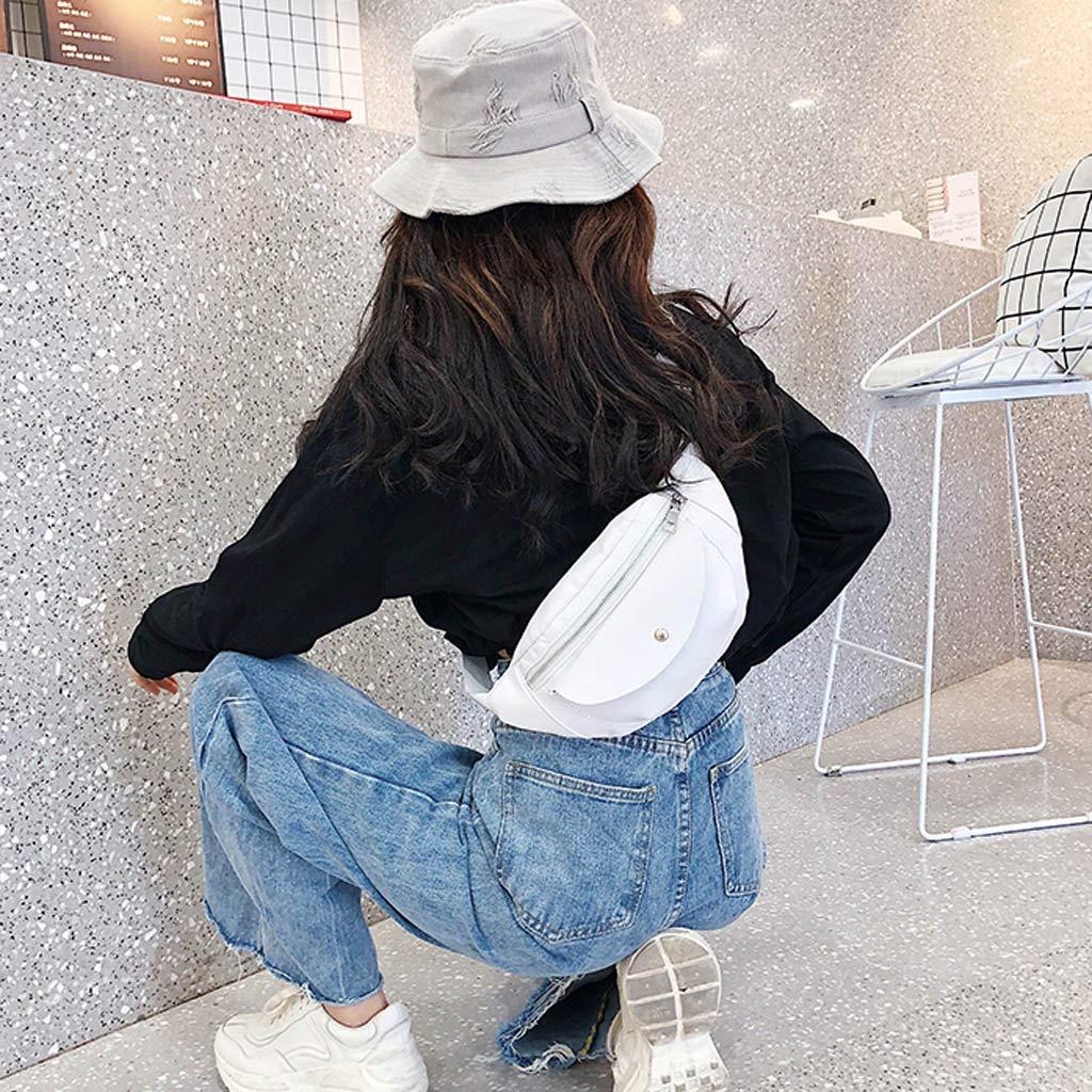 Ri/ñonera de Moda Cuero para Mujer Vestir Deportiva Running Cintur/ón Correr Impermeable Cintur/ón de Dinero Bolsos de Playa Bandolera Bolsos de Mano Bolsa de Pecho Bolsas de Cintura vpass