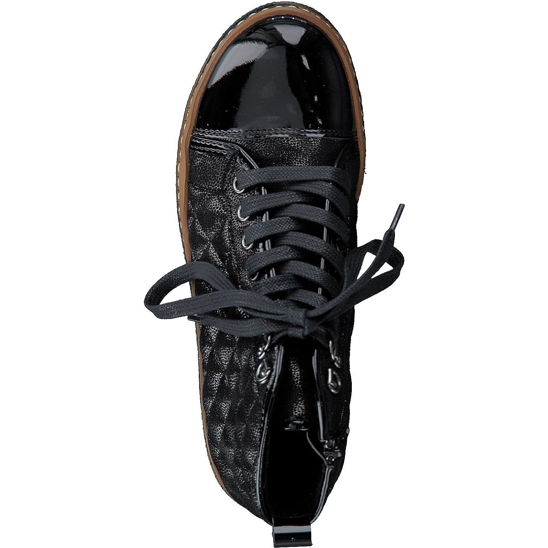 Tamaris 1-1-25725-39 Damen Stiefel Stiefel Stiefel Stiefelette Schnürstiefel Schnür-Stiefel Stiefel Winterstiefel Herbstschuh für die modebewusste Frau funktionaler Reißverschluss 45911b
