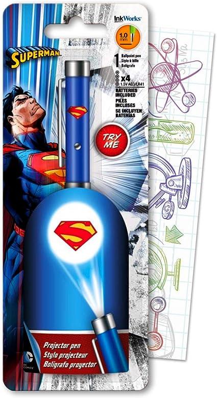 DC Comics Superman Bolígrafo proyector incluye 1 Super Man ...
