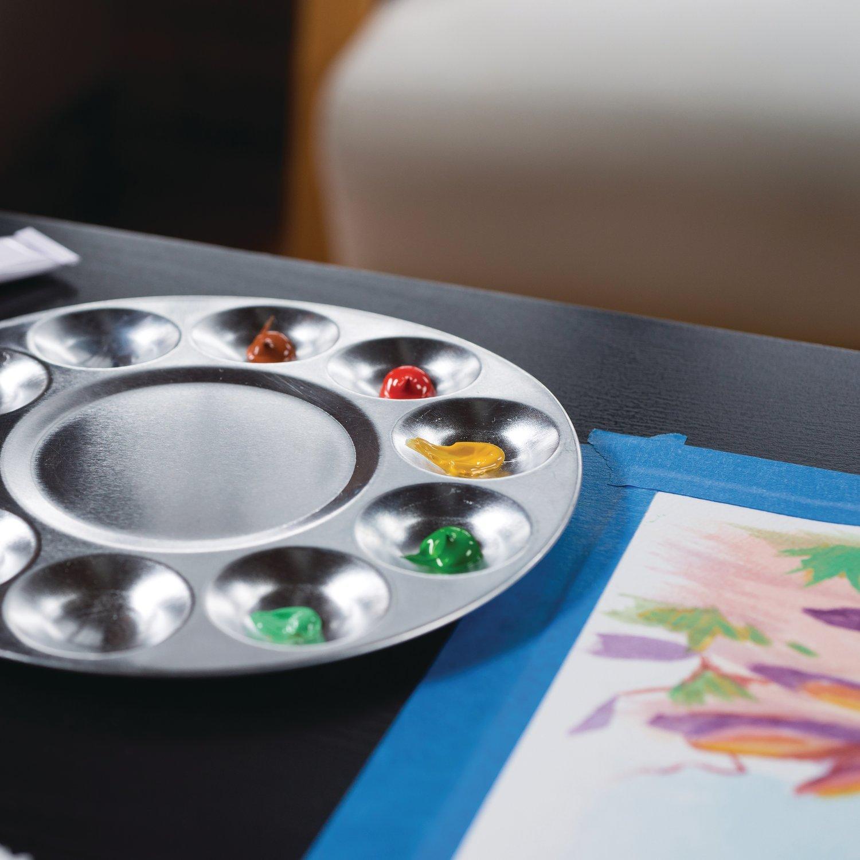10 Wells Includes Plastic Lid 98244 Derwent Academy Paint Palette