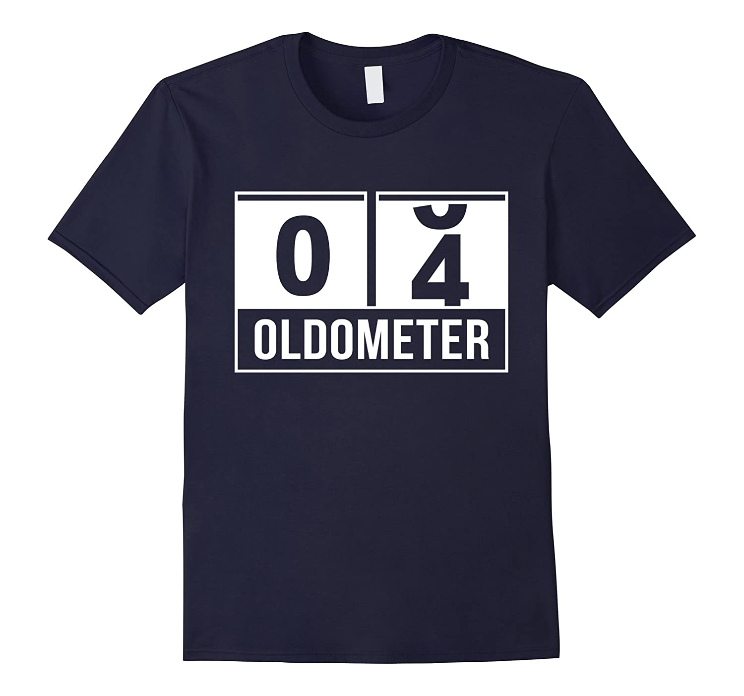 04 Oldometer - 4th Birthday Countdown T-shirt-FL