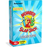 Number Slap Jack Card Game ~ a Fun Way to Help Kids Master Numbers 1-20 ~ Perfect for Preschool and Kindergarten Learners, Ages 4 to 7
