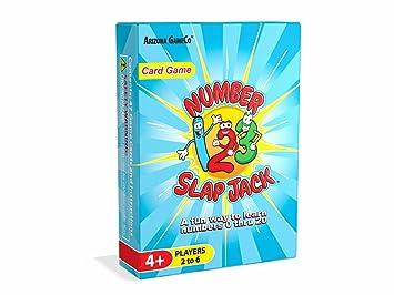 Amazon.com: Número Slap Jack Juego de cartas ~ un divertido ...