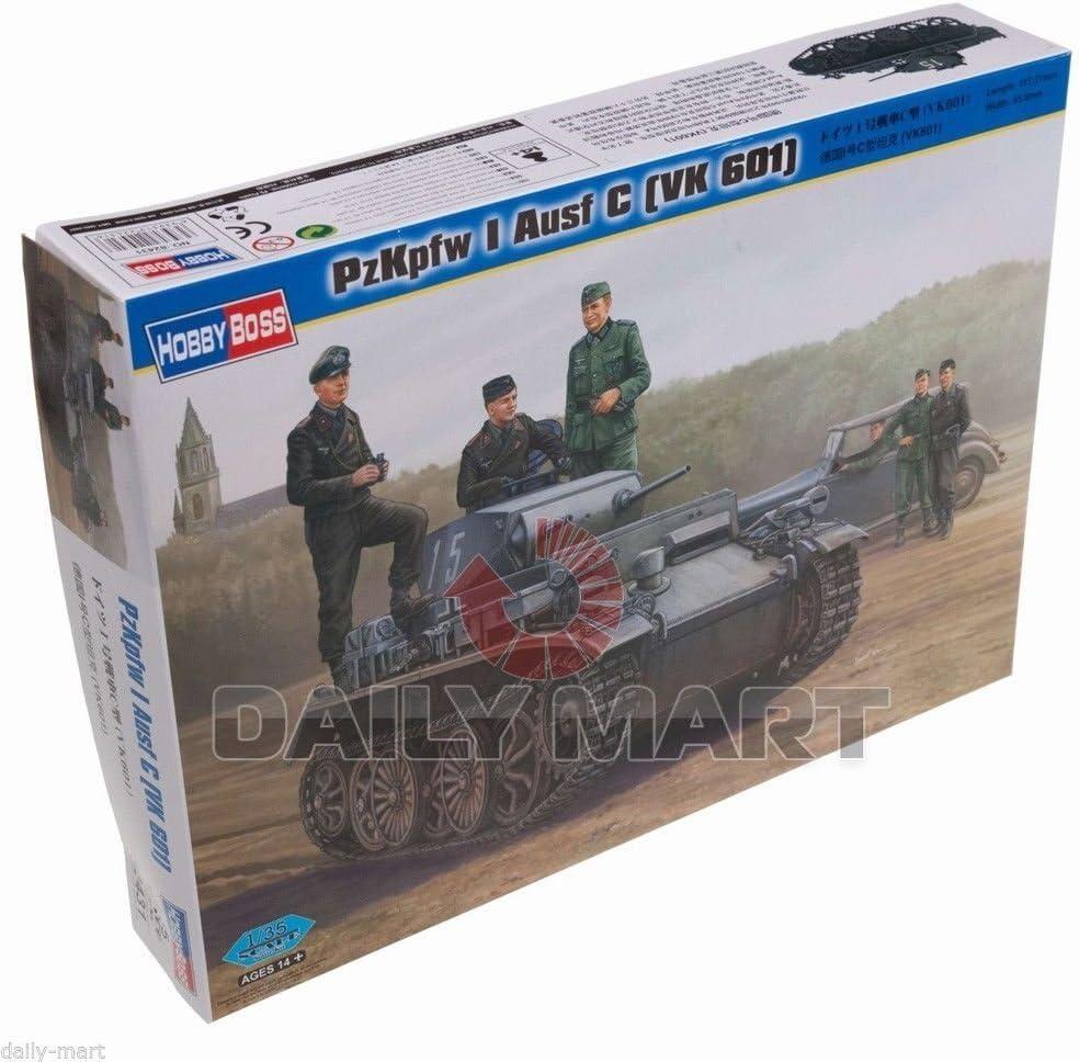 HobbyBoss 1 35 82431 PzKpfw I Ausf Baltimore Mall Kit Kansas City Mall 601 Bo Hobby Model VK C