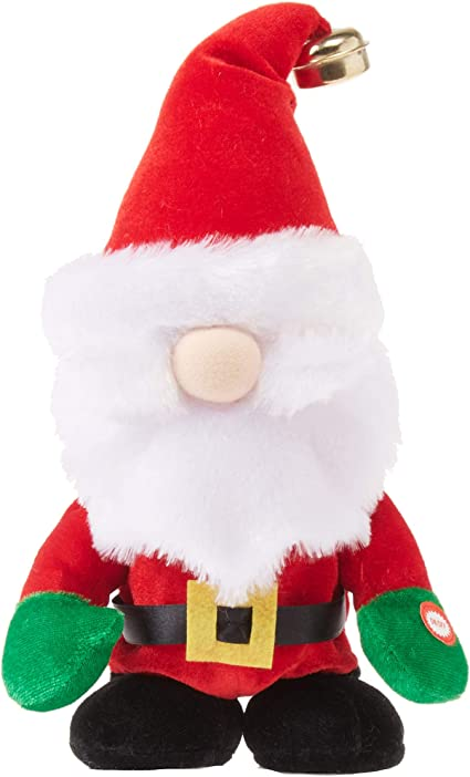 Amazon.com: Walmart Animated Holiday Christmas Santa Claus Singing Santa Claus Is Coming To Town Side Stepping Dancing Musical Singing: Garden & Outdoor
