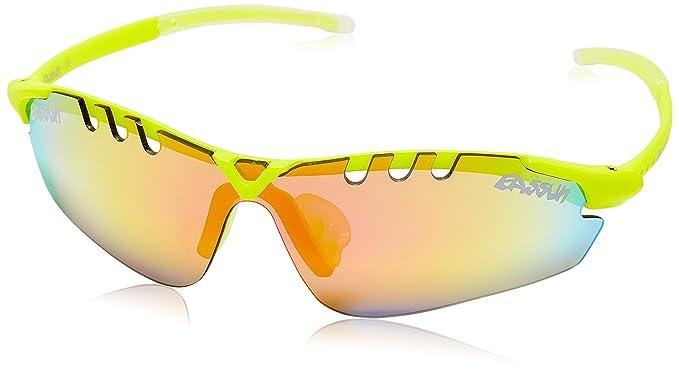 6c79b19136 eassun X-Light Sport Gafas De Sol, Unisex, Amarillo (Fluor), M: Amazon.es:  Deportes y aire libre