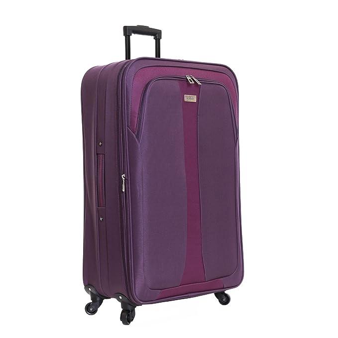Slimbridge Andalucia juego de 2 maletas extensibles, Púrpura: Amazon.es: Equipaje