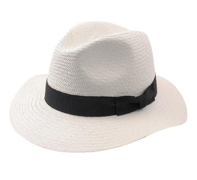 Modissima - Cappello Panama Uomo Indiana Panama - Size XL  Amazon.it   Abbigliamento acc51c0d4669