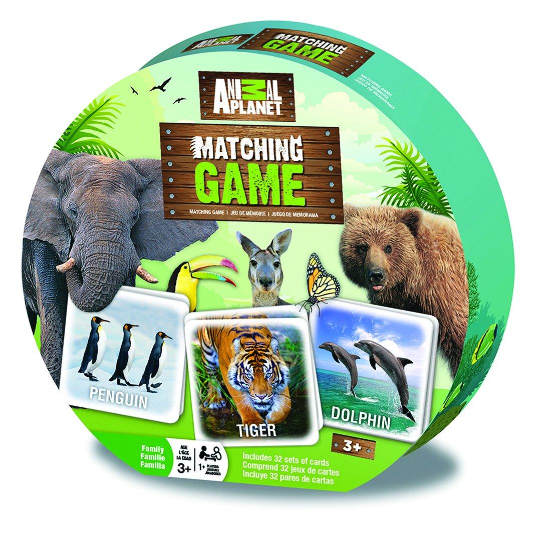MasterPieces Animal Planet Matching Game