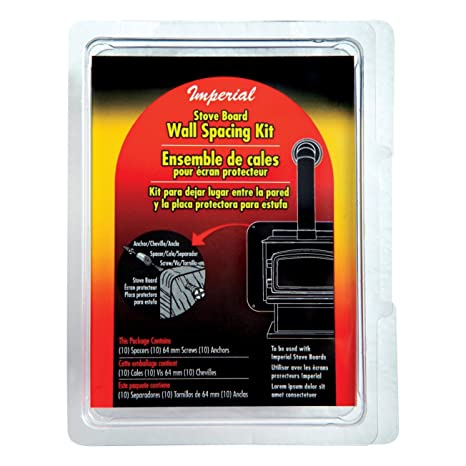 Imperial Manufacturing Wall Shield Spacing Kit, Assorted