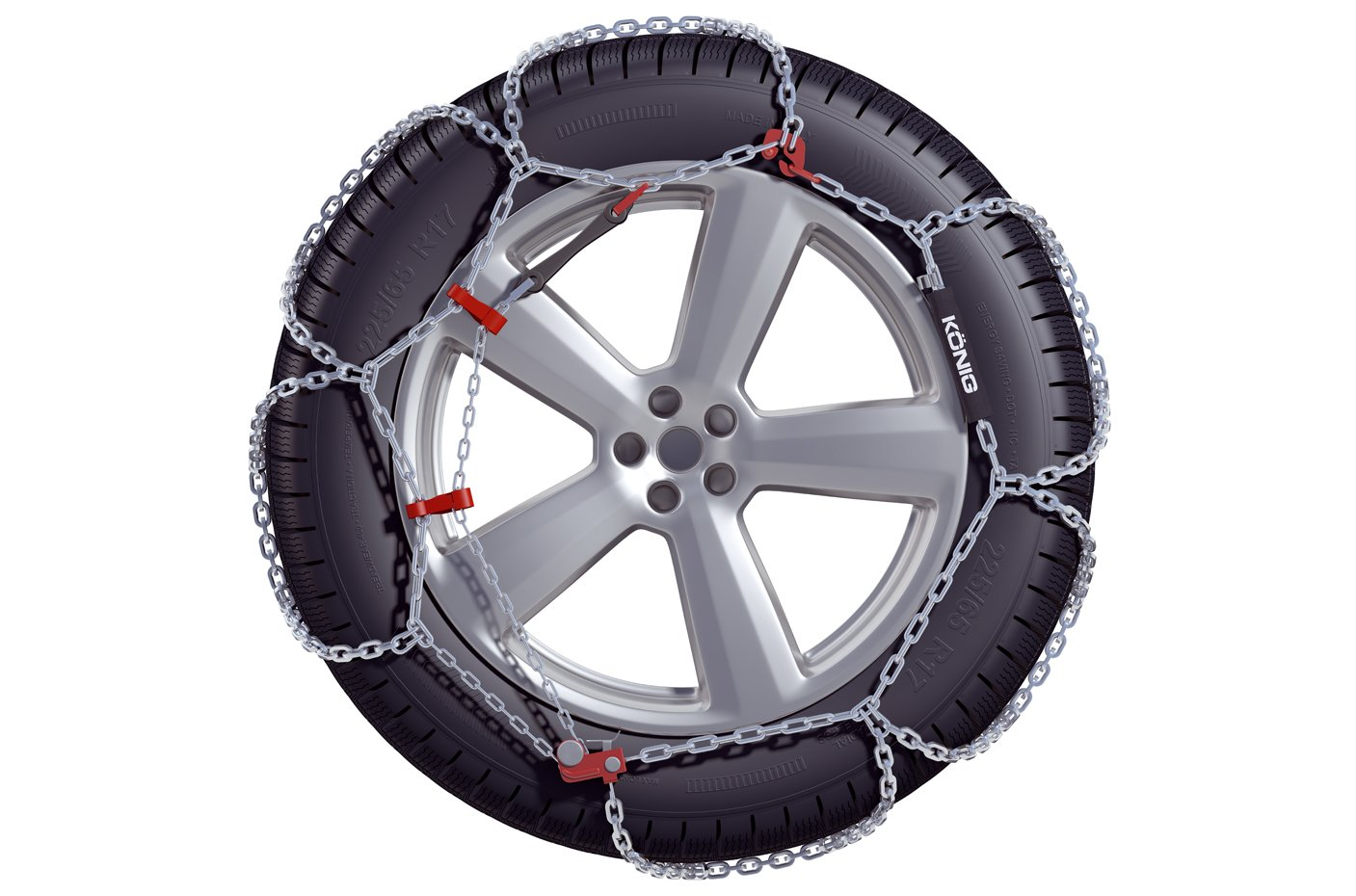 KONIG XB-16 225 Snow chains set of 2
