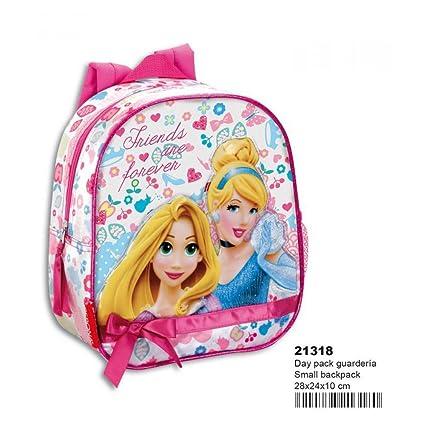 Perona 3628729031 - mochila princesas disney forever peque\u00f1a