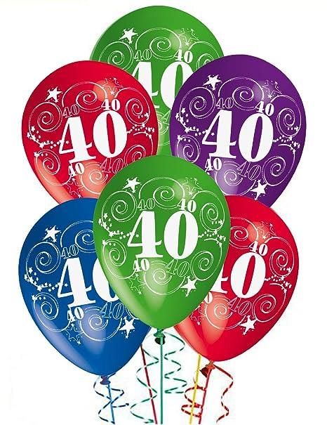 ocballoons Palloncini Compleanno 40 Anni addobbi e Decorazioni per