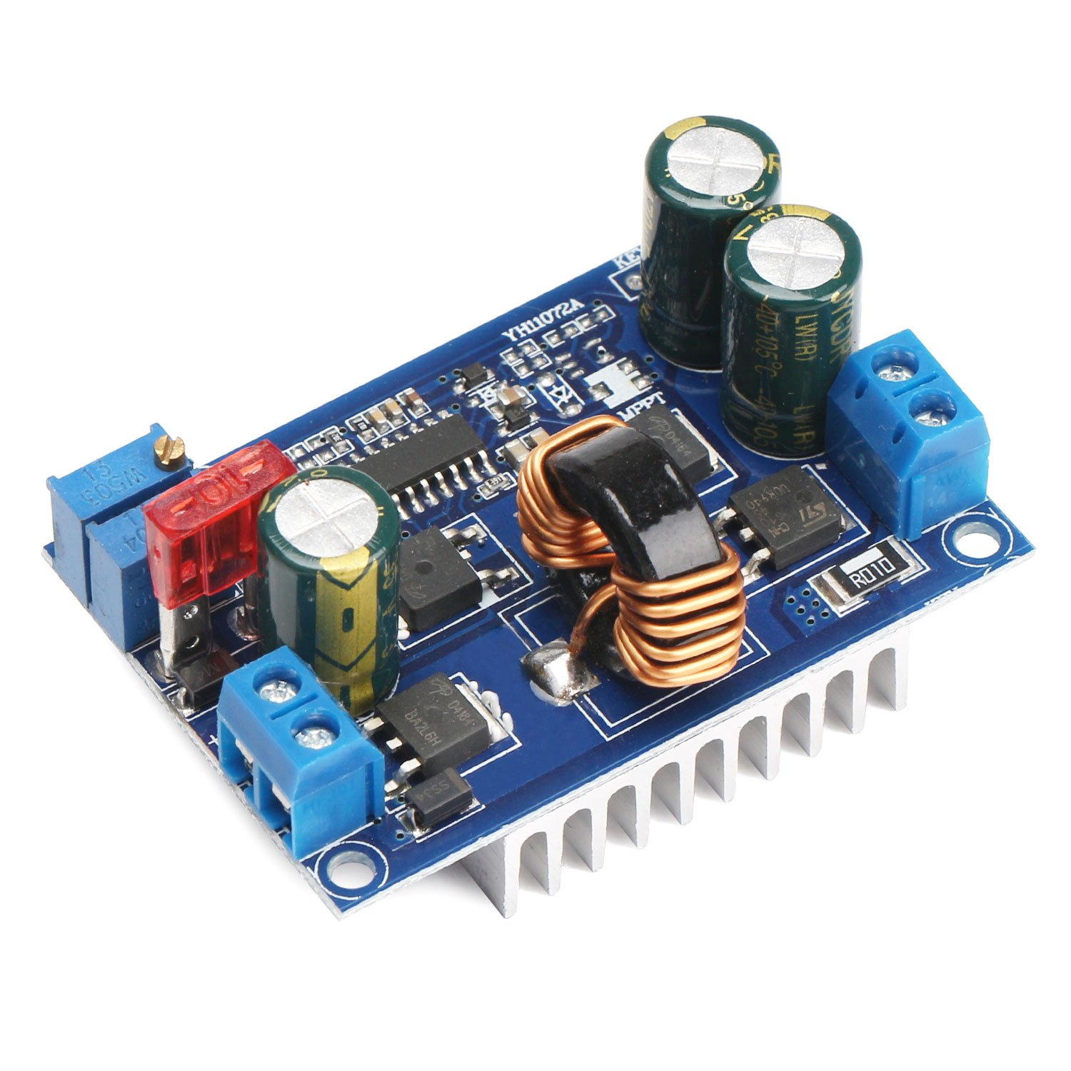 Drok Dc Automatic Boost Buck Converter Module 60w Fab1248 48volts Short Circuit Testing Build Constant Voltage Current Car Regulator Dc5 32v To 125 20v Industrial Scientific