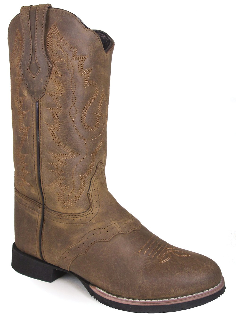 Smoky Mountain Women's Showdown Boot B01N52VO6G 9 B(M) US|Brown Distress
