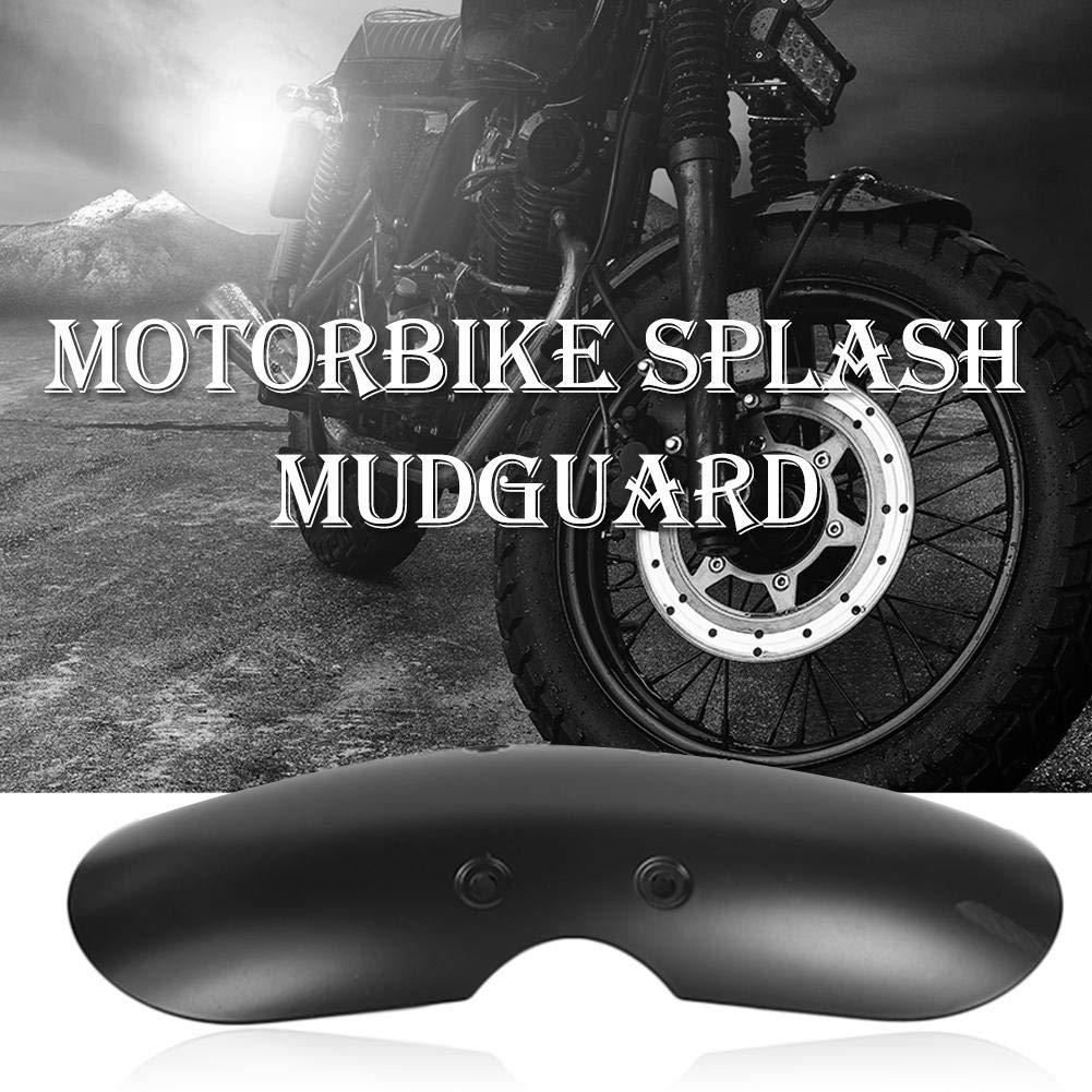 M/áscara de barro corta delantera Broadroot Guardabarros delantero para moto todoterreno Guardabarros Splash Mudguard Negro