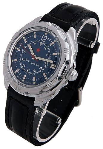 Vostok ruso Comandante Militar KOMANDIRSKIE reloj Ministerio caso 2414/211398: Amazon.es: Relojes