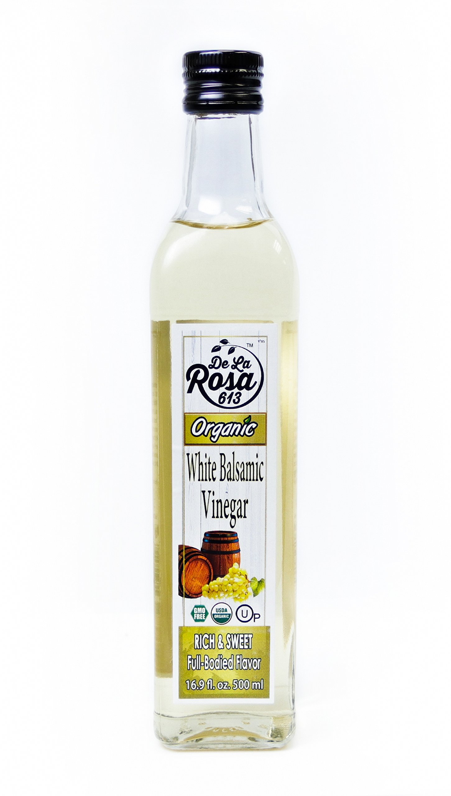 De La Rosa Real Foods and Vineyards White Balsamic Vinegar 500 ml by De La Rosa Real Foods & Vineyards