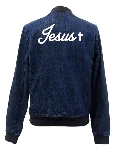 Jesus Bomber Chaqueta Girls Jeans Certified Freak