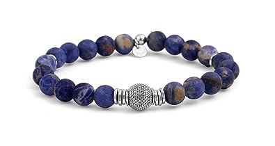 Tateossian Mens Stonehenge Bead Bracelet 9h855