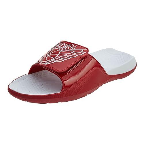 dbb64ffd7 Nike Men s Jordan Hydro 7 Gym Red White-White (13 D(M) US)  Buy ...