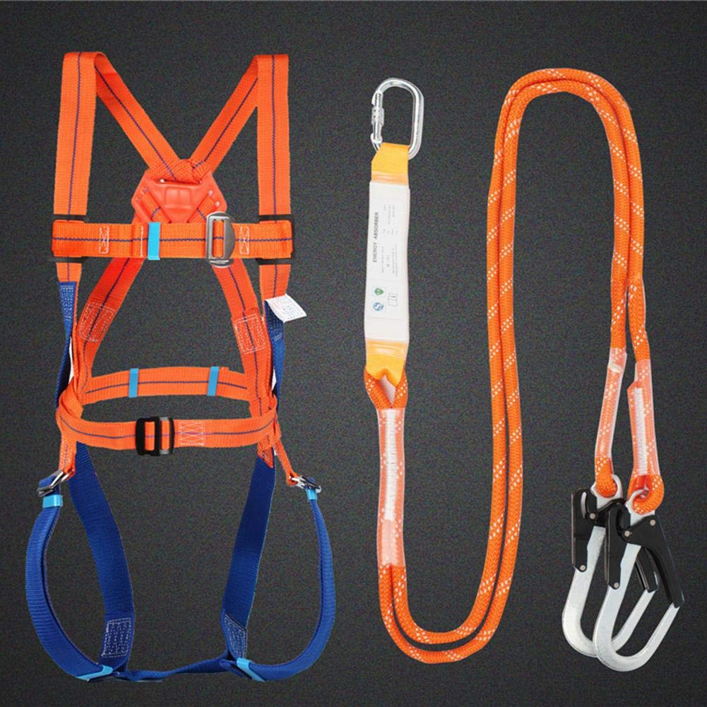 aheadad Full Body Height Safety Fall Arrest Restraint Harness Kit for Access Platform Cherry Picker Restraint Stunning