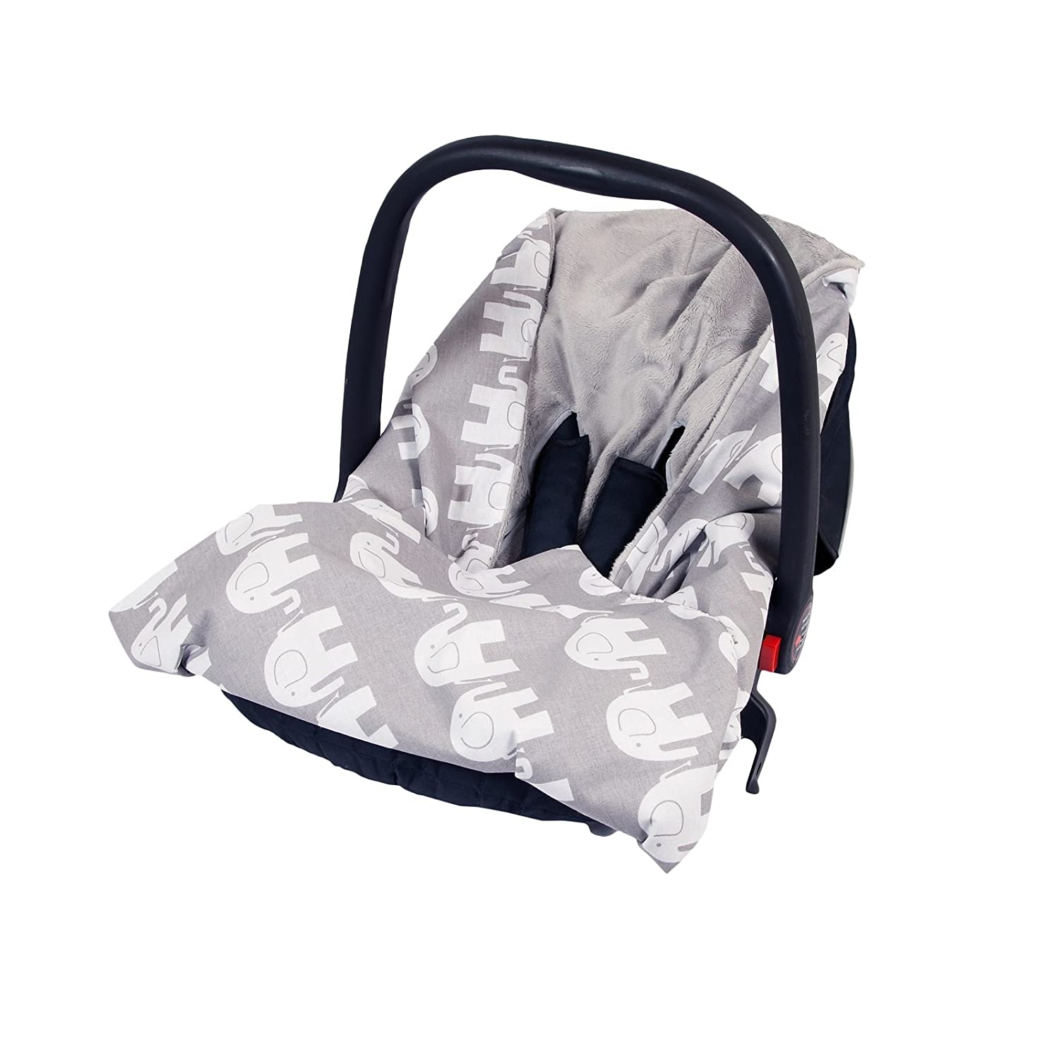 New Cotton Soft Plush Baby Wrap For Car Seat Travel