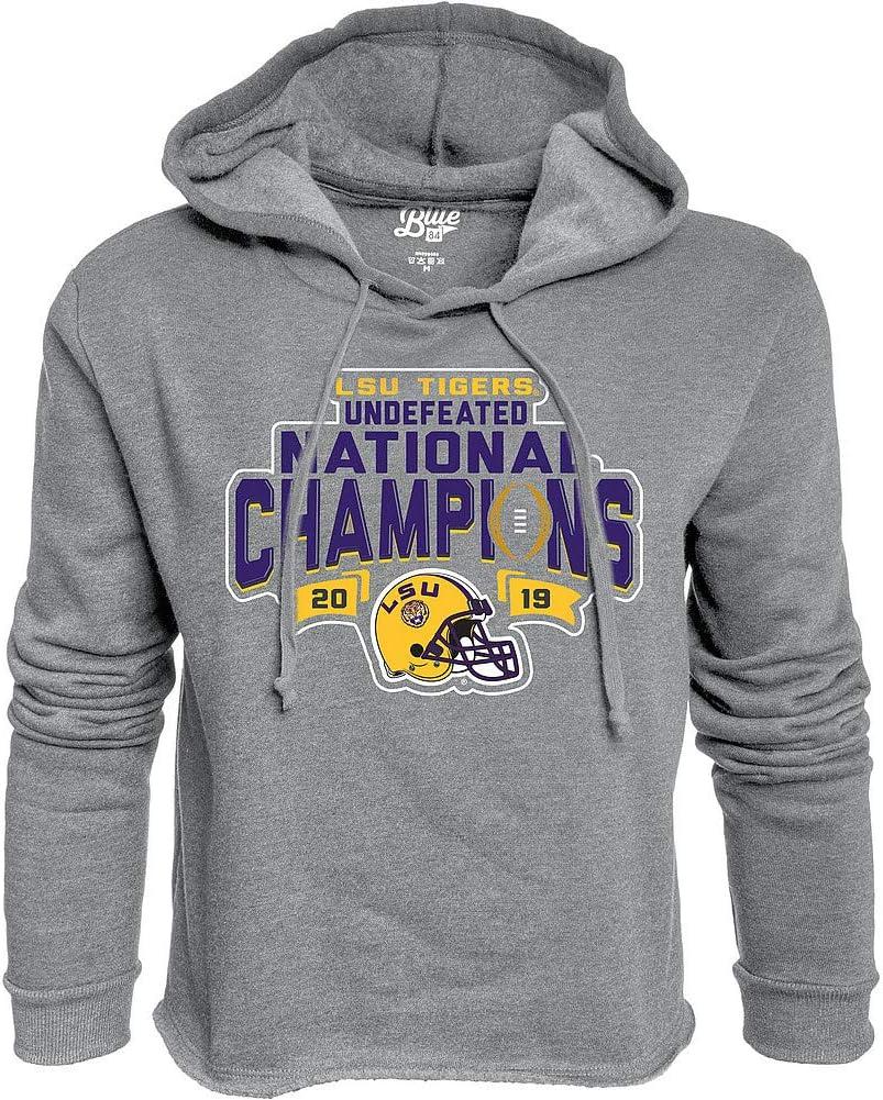 Elite Fan Shop LSU Tigers National Championship Champs Quarter Zip Sweatshirt 2019-2020