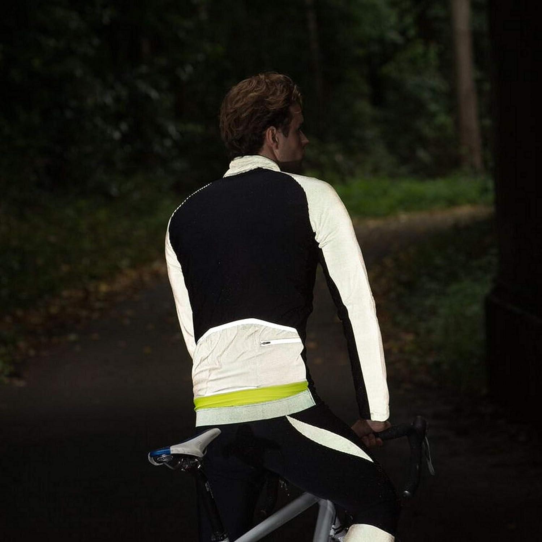Proviz Mens Pixelite Long Sleeve Cycling Jersey-Black Large