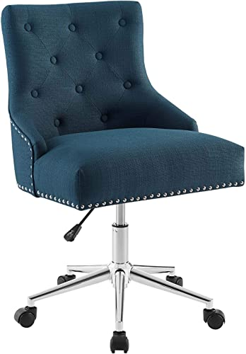 Modway Regent Tufted Button Upholstered Fabric Swivel Office Chair