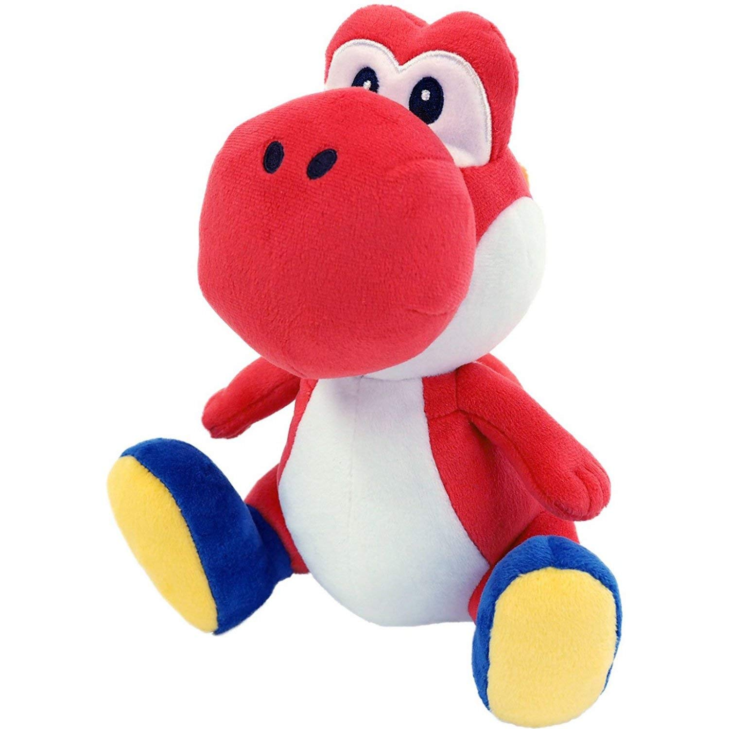 Little Buddy 1389 Super Mario All Star Collection Red Yoshi Plush, 7'' by Little Buddy