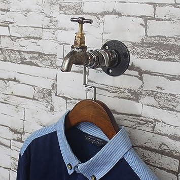 Amazon.com: LXSnail - Perchero de hierro forjado para colgar ...