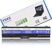 FSKE PA3534U-1BRS PA3534U PA3534U-1BAS PABAS098 PA3533U-1BRS PA3535U Laptop Battery Replacement for Toshiba Satellite P300 L300 L200 L450 L500 L505-10J L550 L555 L350 A300 A200 A205 A210 A500 Dynabook Equium Notebook, 10.8V 4400mah 6-cell