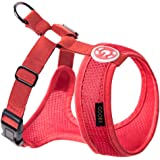Gooby - Freedom Harness II, Choke Free Mesh Harness for Small Dogs with Microsuede Straps